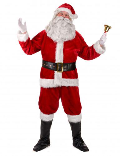Kostume komplet Julemand luksus til voksne