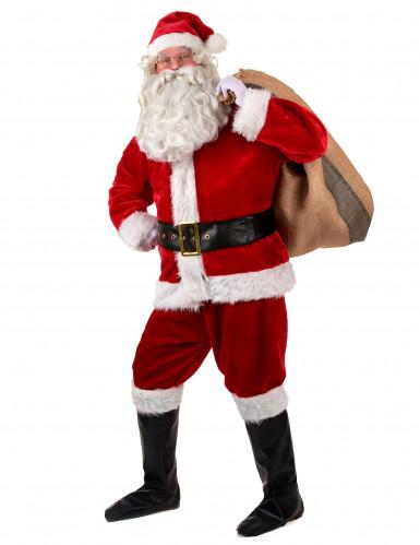 Kostume komplet Julemand luksus til voksne-1
