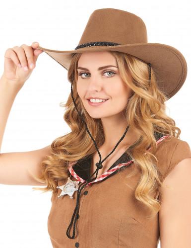 Brun cowboyhat-1