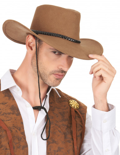 Brun cowboyhat-2