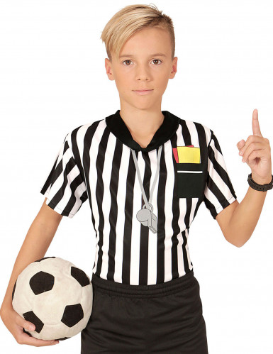 T-shirt fodbolddommer til børn