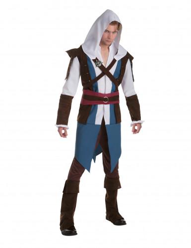 Udklædningsdragt Edward Assassin's creed™ Voksne
