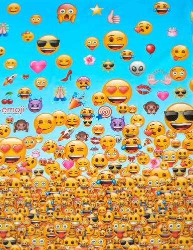 Plastikdug 137 x 213 cm Emoji™-1