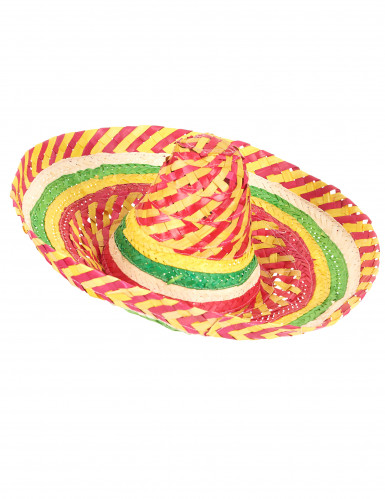 Mexicansk sombrero tutti frutti til voksne