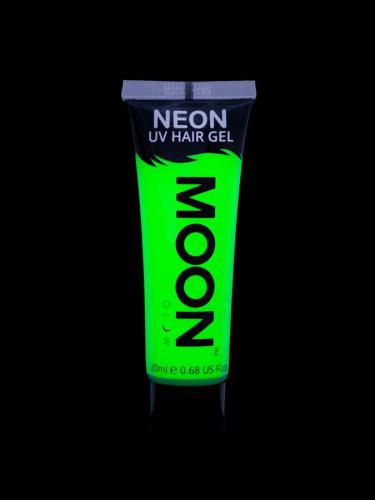 Gel hår neon grøn UV 20 ml Moonglow-1