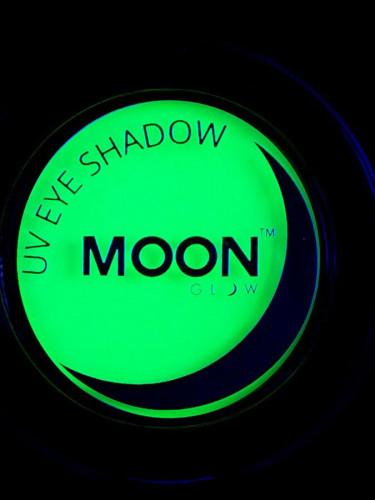 Øjenskygge neon grøn UV 3.5 gr Moonglow©-1