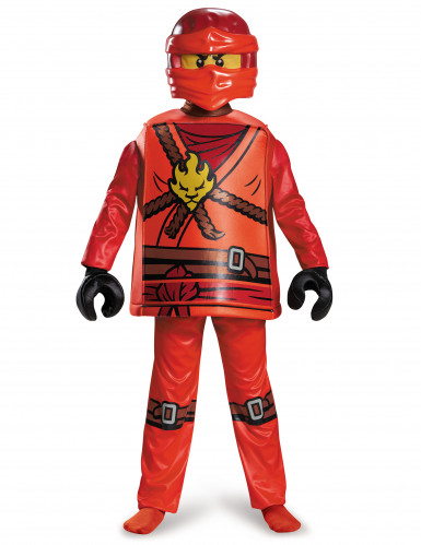Kostume deluxe Kai Ninjago®- LEGO® børn-1
