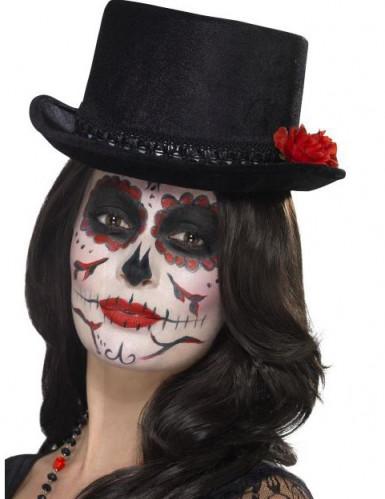 Tophat til voksne Dia de los Muertos