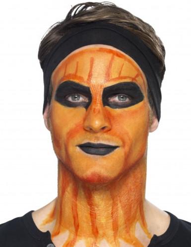 Makeup latex flydende orange med svamp 59 ml-1