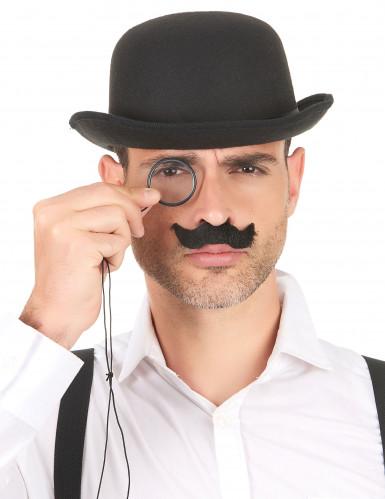 Pakke med 6 stk. moustacher til voksne-1