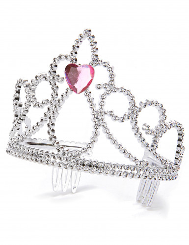 Prinsessediadem med hjerte til voksne og børn