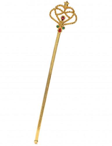 Guldfarvet tryllestav til voksne og børn