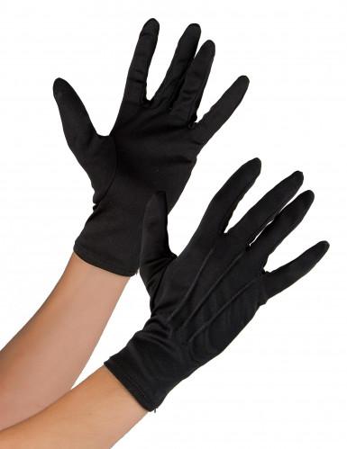 Sorte handsker til voksne