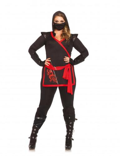 Ninja assassin kvinde kostume
