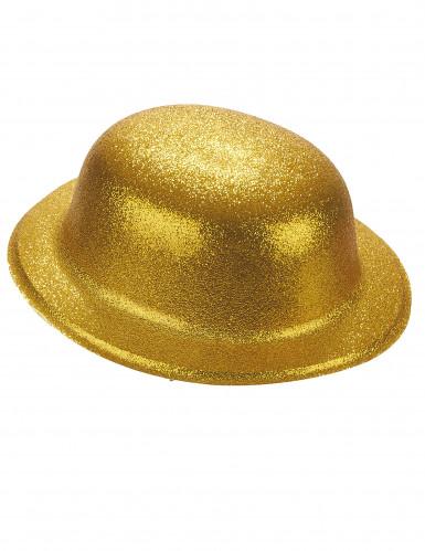 Hat i guld glimmer til voksne