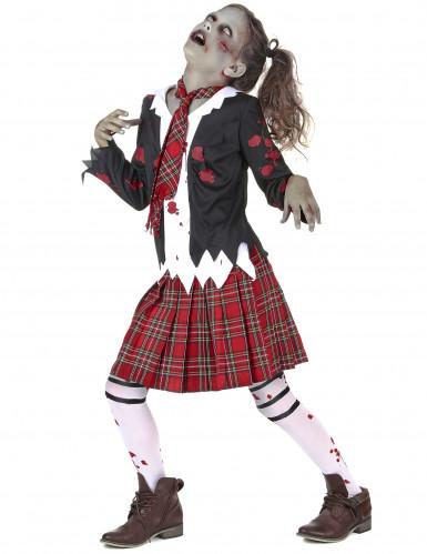 Kostume zombie skolepige-1