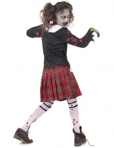 Kostume zombie skolepige-2