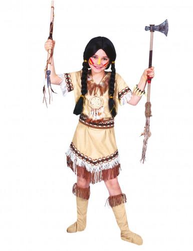 Kostume indianer frynser til piger
