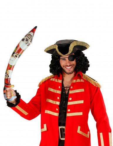 Sværd oppusteligt pirat 75 cm-1