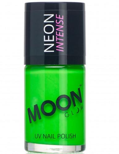 Neglelak grøn selvlysende 15 ml. Moonglow©