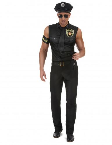 Kostume sexet politimand herre-1
