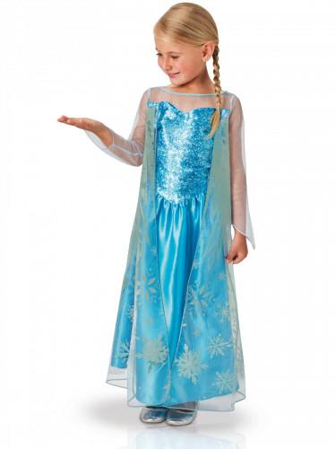 Klassisk Elsa kostume til børn - Frost™