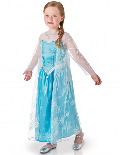 Kostume Elsa fra Frost™ Luksus til piger