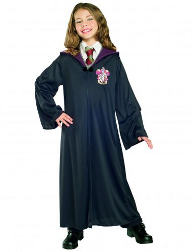 Kostume troldmands kjole Gryffindor luksus til børn- Harry Potter™