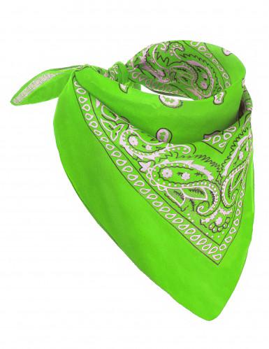 Bandana neon grøn til voksne