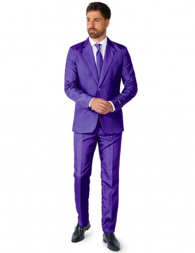 Jakkesæt Mr. Solid violet til mænd Suitmeister™