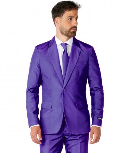 Jakkesæt Mr. Solid violet til mænd Suitmeister™-1