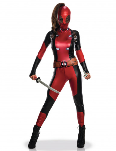 Kostume sexet Deadpool™ dame