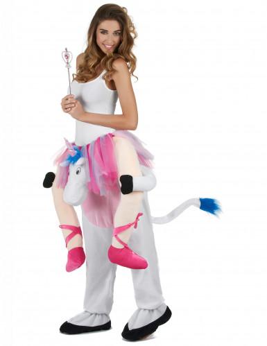 Kostume danserinde på en enhjørning-1