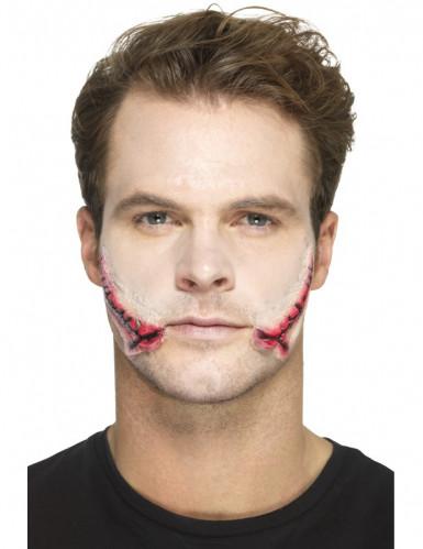 Falsk sår til ansigtet - Halloween-1