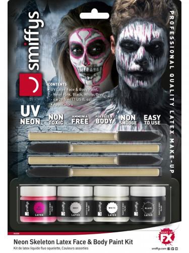 Skelet sminkekit- UV - Halloween-2