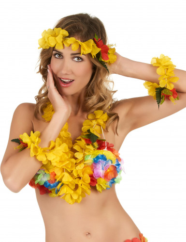 Hawai sæt i gul voksne