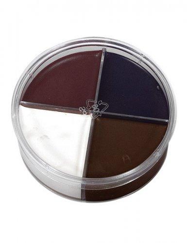 Sminkekit makeup 4 farver 14g