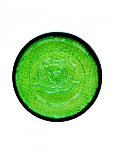 Grønt hekse sminke til Halloween