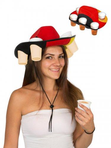 Hat med krus i tyske farver-1