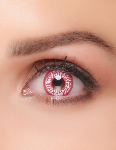 Kontaktlinser blodskudte øjne til voksne Halloween