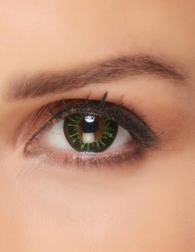 Kontaktlinser grøn ild til voksne