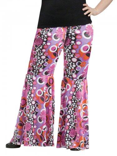 Bukser hippie flowerpower store størrelser