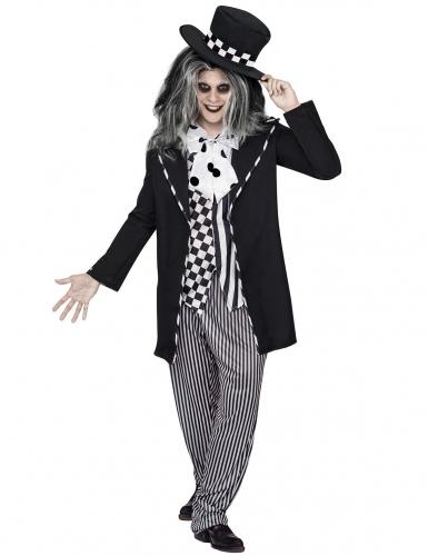 Skøre vagabond Halloween sort-hvid til mænd