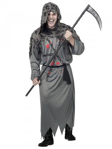 Kostume manden med leen Halloween