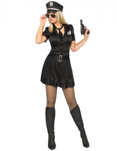Kostume politi sexy kjole kvinde
