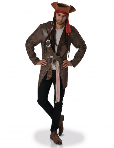 Kostume Jack Sparrow™ Pirates of the Caribbeab™ til voksne