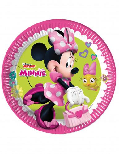 8 Tallerkener Happy Minnie™ 23 cm