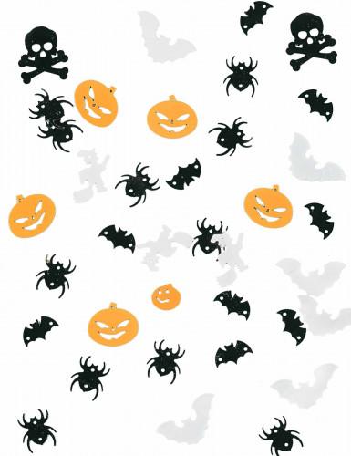 Konfetti til bordet Halloween