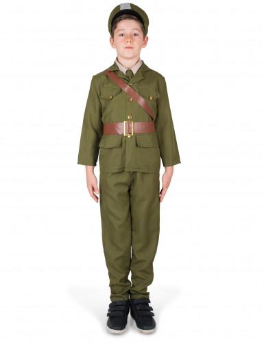 Kostume militær officer til drenge