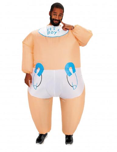 Kostume oppustelig baby til voksne